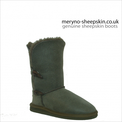 Short Bailey Sheepskin Boots Real Winter Design Dot3