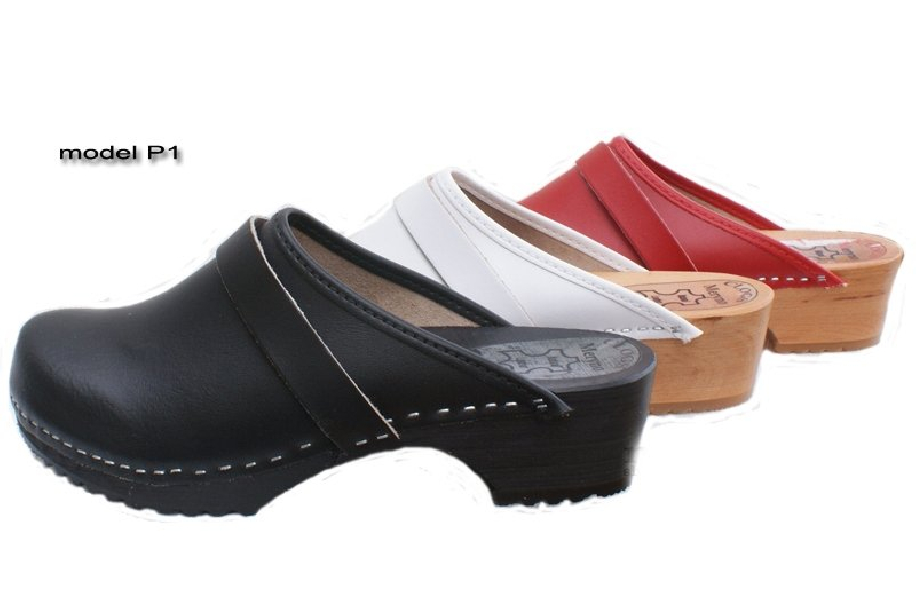959255d0696 Women's Hand Made Clogs wooden sole real leather