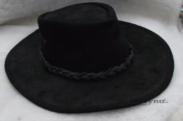 Australian Leather Bush Cowboy Hat Cowboy Brown Amazing waterproof