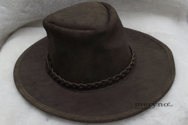 Australian Leather Bush Cowboy Hat Cowboy