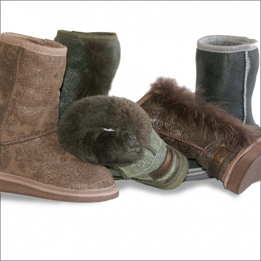 Sheepskin Boots for Kids