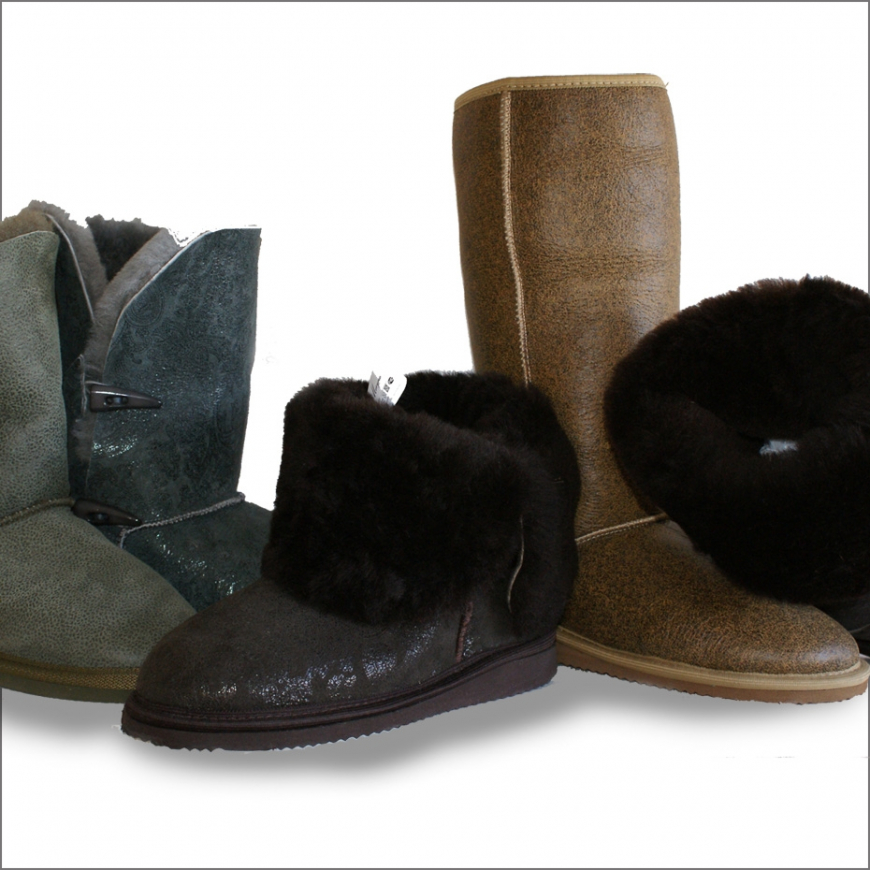 Sheepskin Boots for Woman